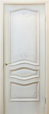 Грин Плант Леона ваниль Двери шпонированные Green Plant в Минске