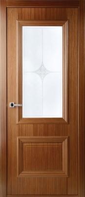 Межкомнатная дверь  Belwooddoors ФРАНЧЕСКА ПО Belwooddoors Франческа орех Двери Белвуддорс в Минске