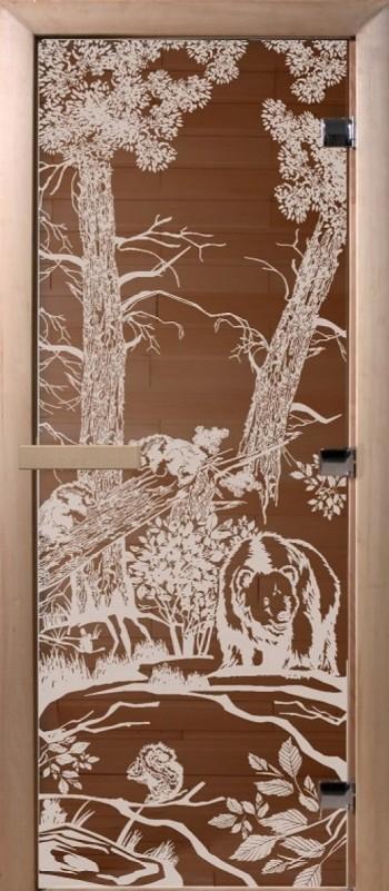 Doorwood Мишки в лесу бронза